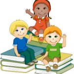 Децата от IVб група съчиняват гатанки.